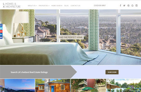 """We are so happy with our custom designed real estate website."""